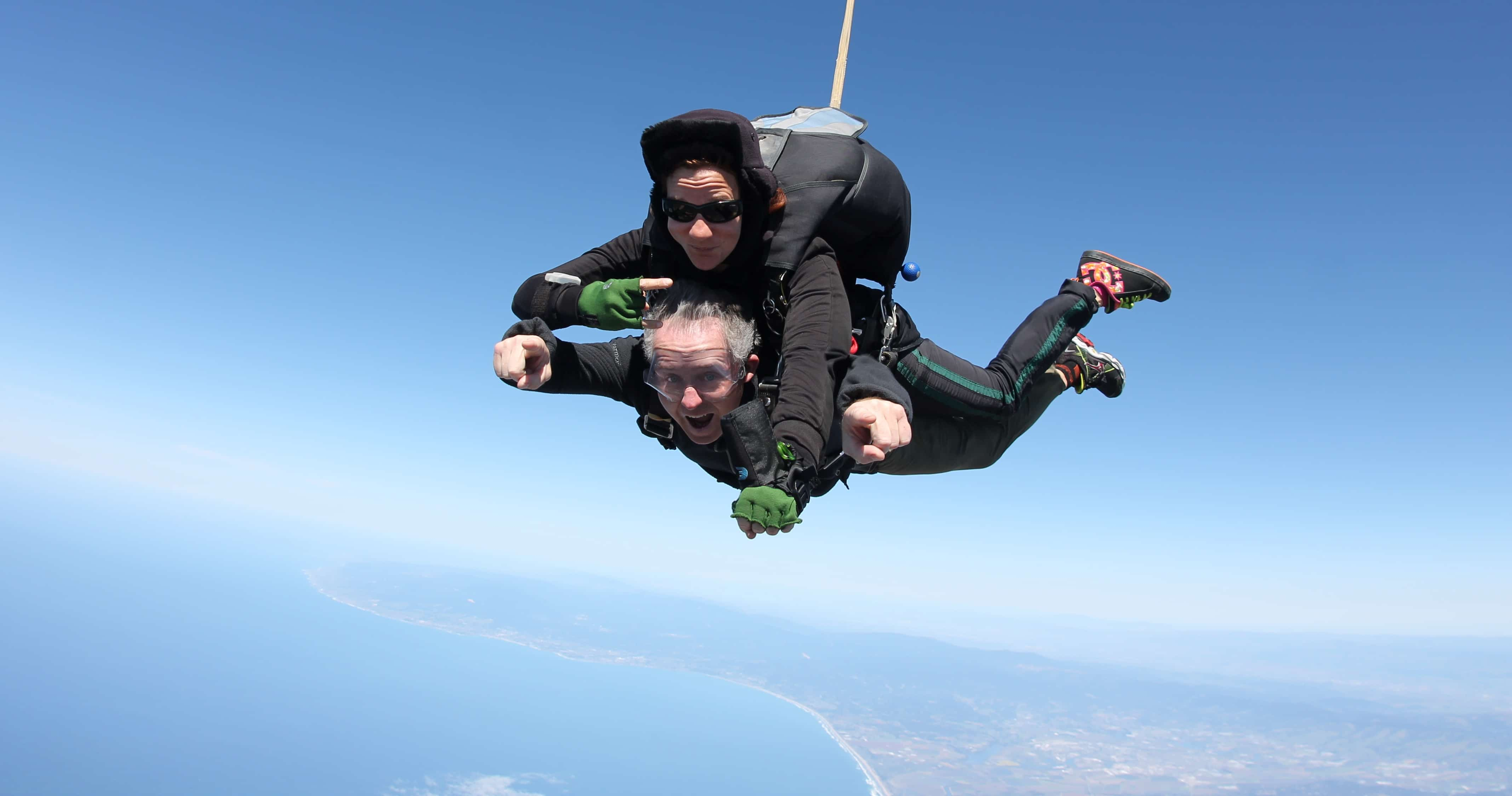 a research on skydiving Skydiving is a very old and most popular sport it is a diversion from the normal parachuting which was discovered some centuries ago basically sky diving.