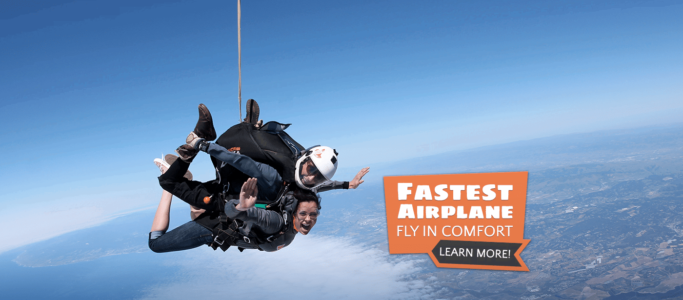 Best Skydiving in the Bay Area | Skydive Monterey Bay