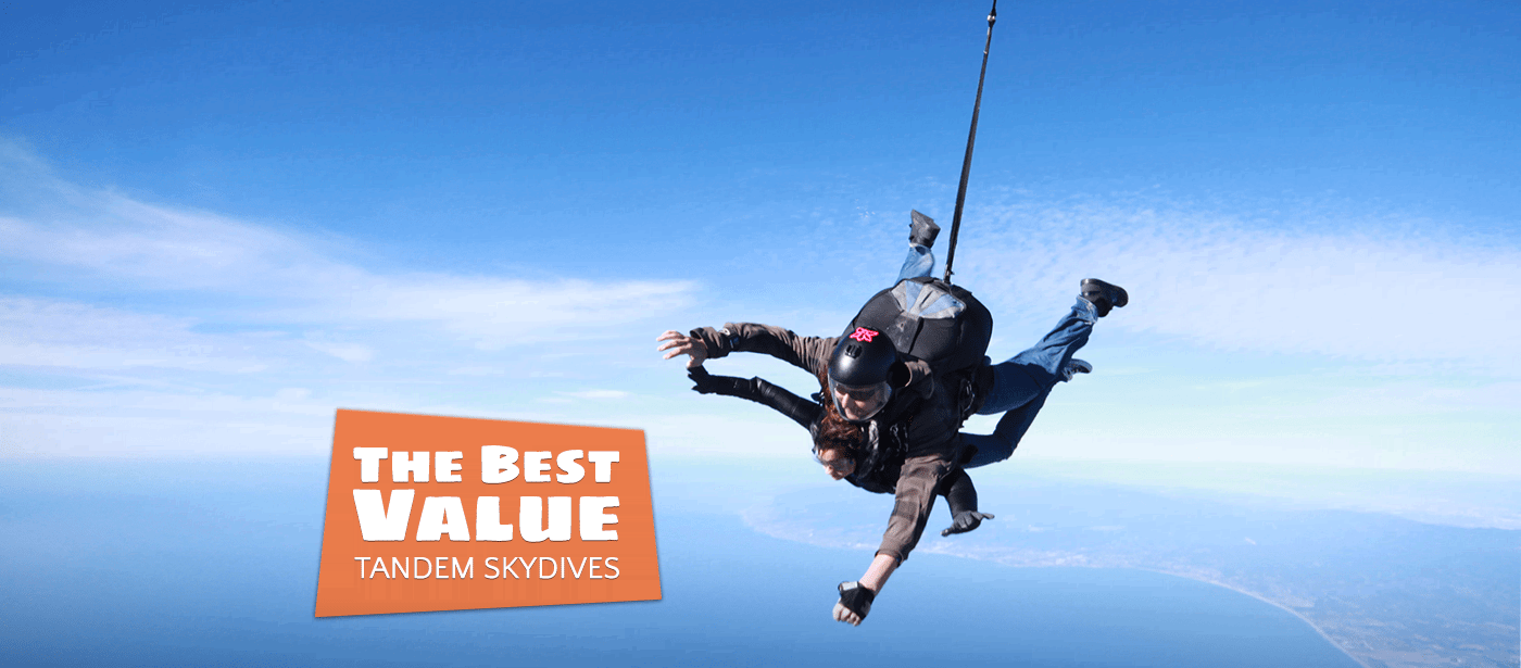 Monterey Bay Skydiving Pricing | Skydiving California Prices